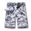 Men's Fashion Casual Summer Loose Fit Printed Cargo Shorts