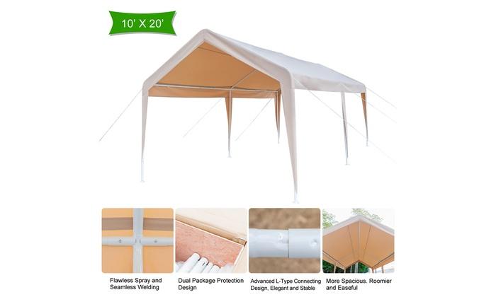 Gazebo Fabric Outdoor Garden Canopy Shelter Tent Carport Party sun Protection