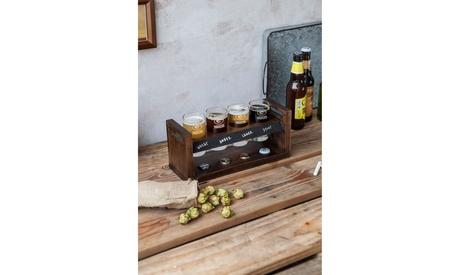 Picnic Time NFL Craft Beer Flight Beverage Sampler
