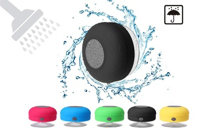 Mini Shower Speaker-Wireless Waterproof Bluetooth Speaker Hands-Free Portable