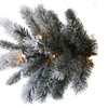 Pre-Lit 9' Slim Winter Frost Pine Artificial Christmas Tree