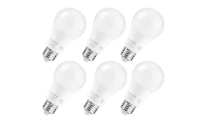 A19 Dimmable LED Bulb,5000K 950lm UL-Listed LED Light Bulbs