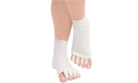 Toes Alignment Socks Massage Foot Toe Align Separator Socks Prevent Foot Cramps
