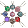 Diffuser Pendant Necklace Aromatherapy Essential Oil Pads