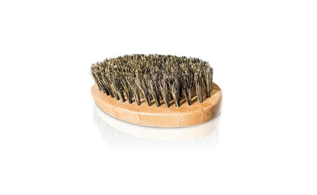 Men Boar Hair Bristle Beard Mustache Brush Palm Soft Round Wood Handle 1069d64b-a1f4-4c85-ab06-75751520d899