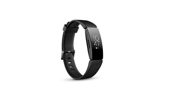 Fitbit Inspire HR Heart Rate & Fitness Tracker, One Size 1 Count