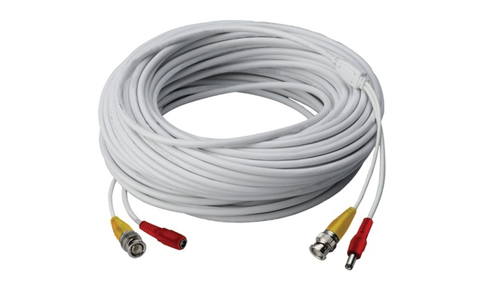 Lorex Video Rg59 Coaxial Bnc/power Cable (60ft)