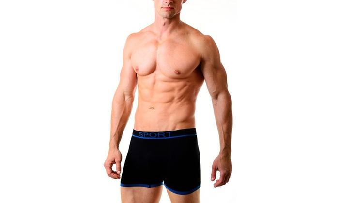 2259e19c6245cc Men'S Ranger Seamless Boxer Briefs Underwear X 2 | Groupon