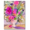 Sheila Golden Traditional Bouquet Canvas Print