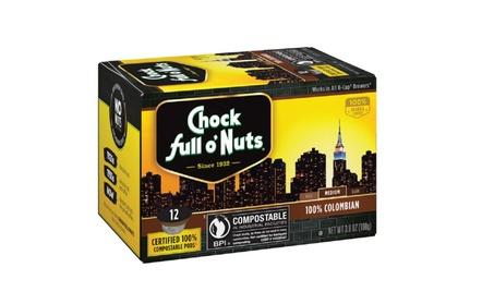 Chock Full o'Nuts 100 Percent Colombian Coffee, 12 Single Serve Pods c5e49a28-50ef-4256-8e74-653e13615337