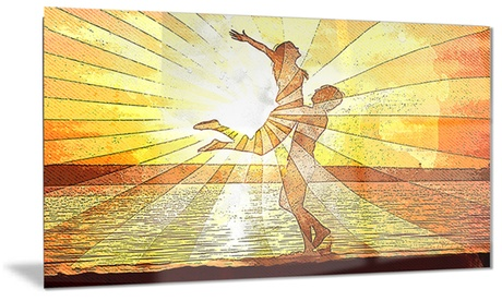Rays of Light Sensual Metal Wall Art 28x12 5cce76e2-12d1-4c19-bd74-04bc31412c7c