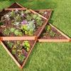 Classic Sienna Raised Garden Bed Garden Star, 12 ft. x 12 ft. x 11 in. x 1 in.