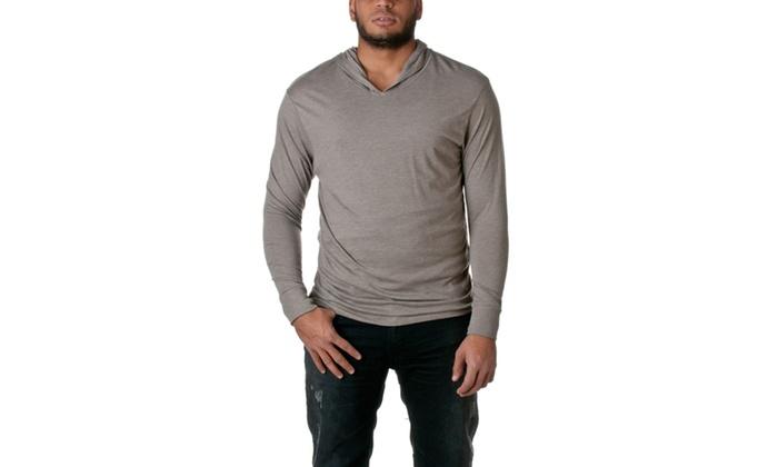 NLA Tri-Blend Long-Sleeve Hoodie, 6021-2