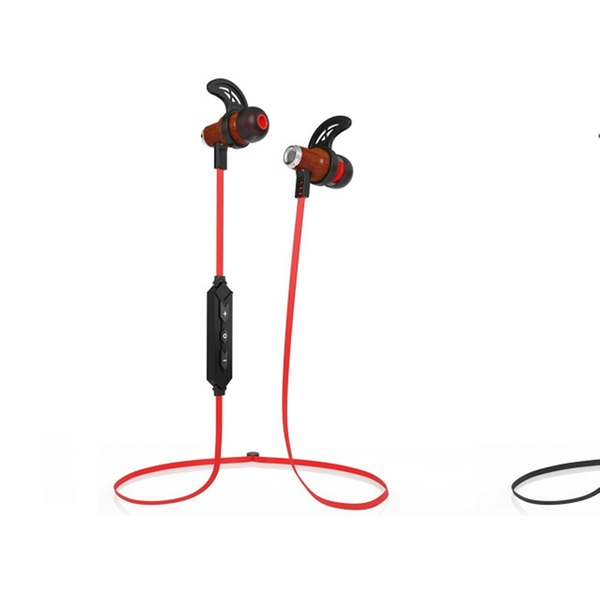 d62d07b9dd2539 Symphonized NRG Wireless Bluetooth In-ear Wood Earbuds | Groupon