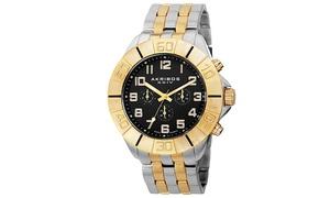 Akribos XXIV Mens Swiss Quartz Multifunction Bracelet Watch AKGP767