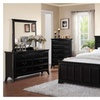 Orikhiv 5 Pieces Bedroom Set in Black