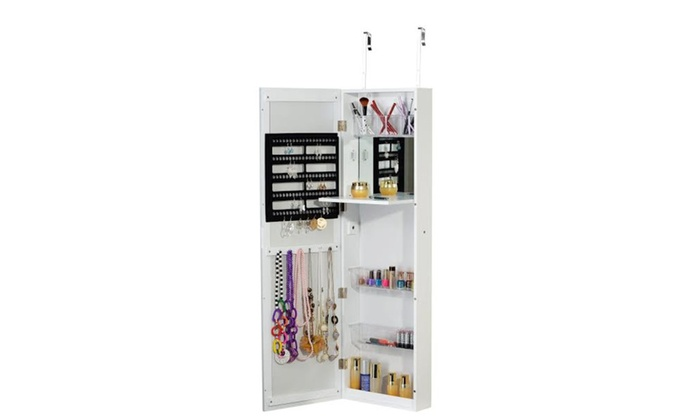 Jewelry Armiore Makeup Cabinet Cosmetic Organizer Wall Mount Over