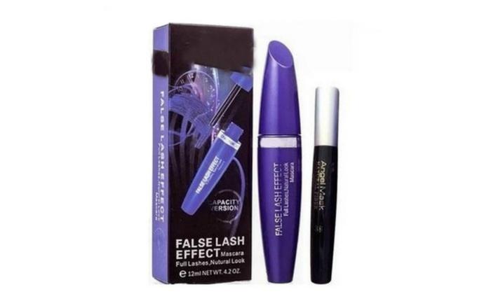 0b82dc77111 2Pcs Max Factor False Lash Effect Mascara + 3D Fiber Lash | Groupon