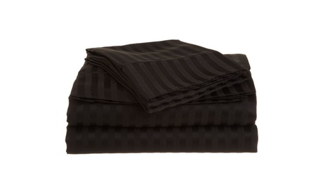 Superior 1500 Series 100% brushed Microfiber Striped Sheet Set 7c160290-9952-46df-b5e1-d549eec719d7