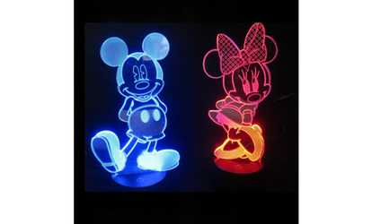Groupon Disney Character Illusion Decorative Led Lights