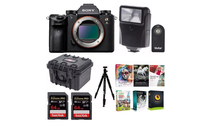 Up To 38% Off on Sony a9 Full Frame Mirrorless...   Groupon Goods