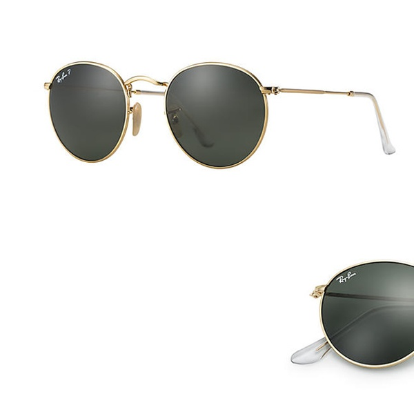 e35d11f72 Up To 50% Off on Ray-Ban Round Metal Sunglasse... | Groupon Goods
