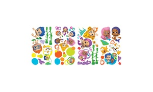 Roommates Decor Bubble Guppies Wall Decals