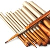 Golden 12 Pcs Professional Pinceaux Cosmetics Makeup Brush Maquiagem