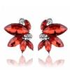 Symmetrical Acrylic Opal Stone Earrings