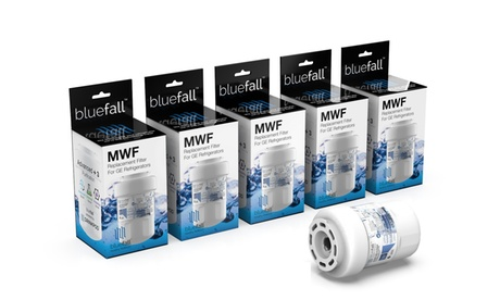 5 Pack GE MWF Refrigerator Water Filter Smartwater Compatible Filter photo