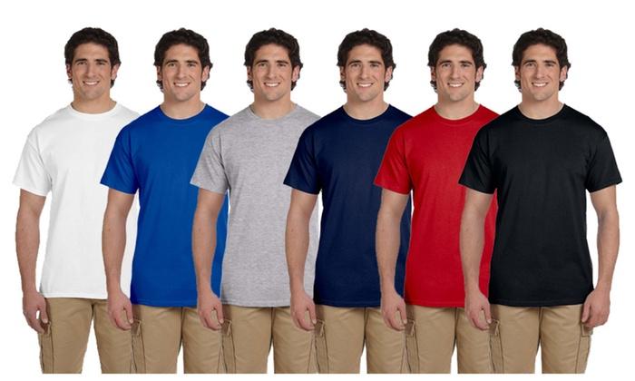 d84981f4814 Gildan Men s T-Shirt 100% Cotton Assorted Bundle (30-Pack)