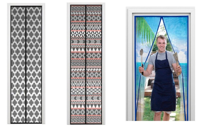 2 Packs of Instant Screen Door for Seting Up Quickly - 2