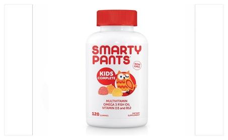 SmartyPants Kids Complete Gummy Vitamins Multivitamin 3 DHA/EPA