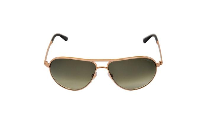 7da0b2fe4fb Tom Ford TF144 Marko 28P Rose Gold - 58-13-140 mm Sunglasses