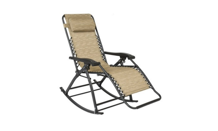Terrific Zero Gravity Rocking Chair Lounge Porch Seat Outdoor Patio Ocoug Best Dining Table And Chair Ideas Images Ocougorg