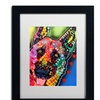 Dean Russo 'Jackson' Matted Black Framed Art