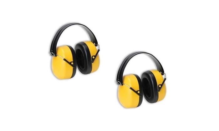 Set of 2 Sound Isolation Safety 29 Decibel Hearing Protection Ear Plug