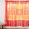 """Set of 4 Sheer Voile Curtains, Panels, Window Drapes 55"""" X 84"""""""