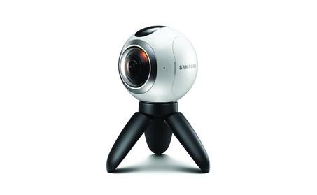 Samsung Gear Real 360-Degree High Resolution VR Camera - White f6f67ac7-4c45-4a63-8da8-62434d541174
