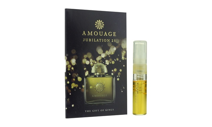 Up To 33 Off On Amouage Jubilation 25 Eau D Groupon Goods