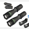 Premium 2x 15000LM T6 LED Zoom Flashlight and 18650&Charger&Holder