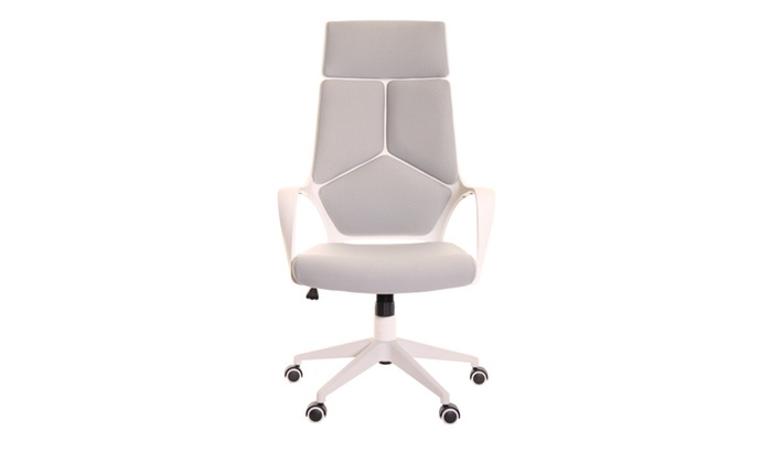 Wondrous Modern Ergonomic Office Chair Grey White By Timeoffice Groupon Lamtechconsult Wood Chair Design Ideas Lamtechconsultcom