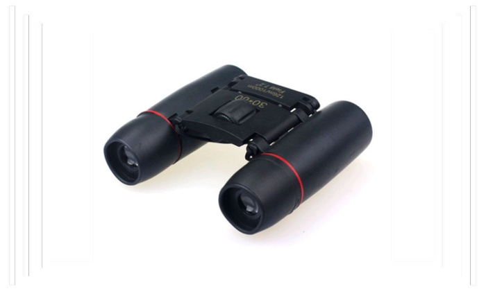 New Day Night Vision Binoculars 30 x 60 Zoom Travel Folding Telescope