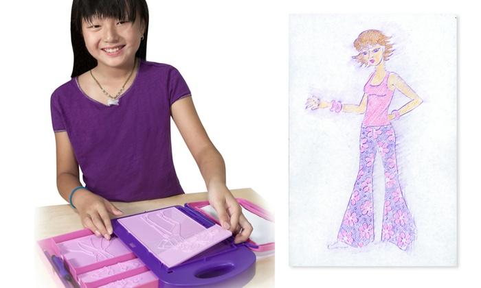 Melissa Doug Fashion Design Activity Kit 16 Piece Groupon