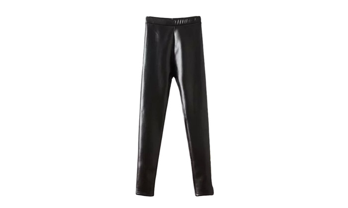 Women's Mid-Rise Solid Korean Fashion PullOnStyle Trousers