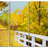 Parkland Trails - Photography Glossy Metal Wall Art