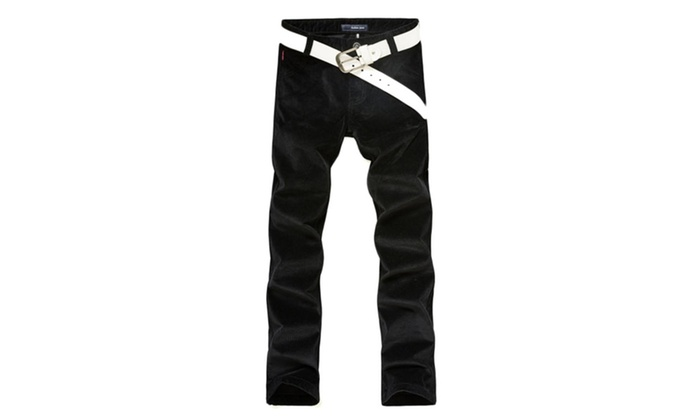Men's Korean Zip Up with Button Closure  Stylish Pants