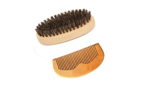 Grooming Aid Shaping Tool Comb Brush Set Kit Beard Mustache Hair 00bc4f88-63c3-4033-83fd-3ee9cd00d03c