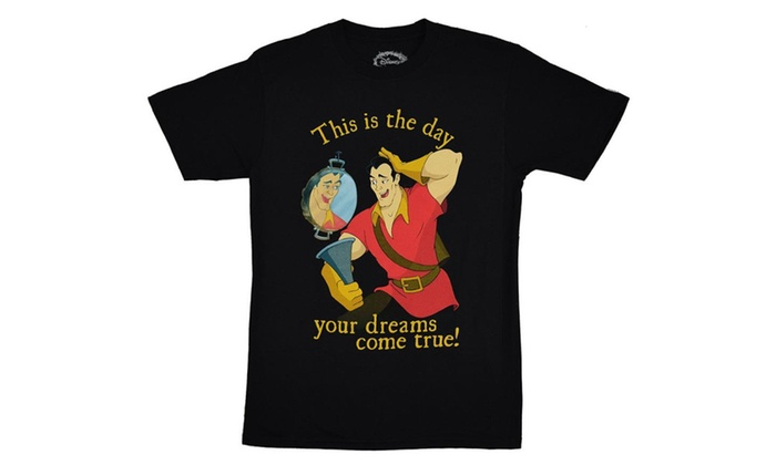 Disney Beauty And The Beast Gaston Dreams Come True T-shirt
