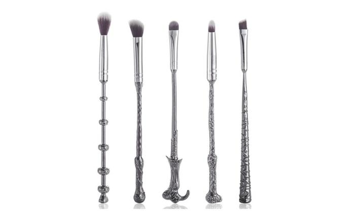 KELLY POWELL: 5pcs Makeup Brush Set Professional Clean Brush Cosmetic Tool